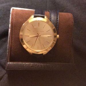 Double strap Michael Kors watch